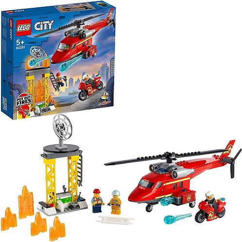 Legoo City - Elicottero antincendio
