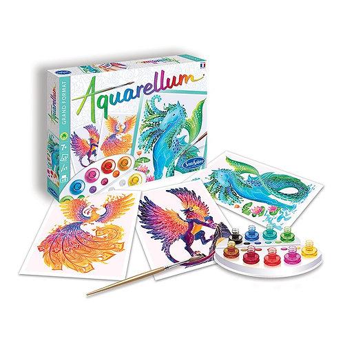 Aquarellum grande - Animali mitologici