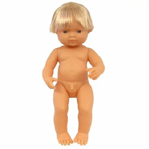 Bambola cm.38 europea maschio