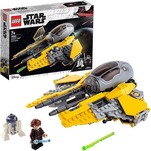 Lego star Wars - Jedi Interceptor di Anakin