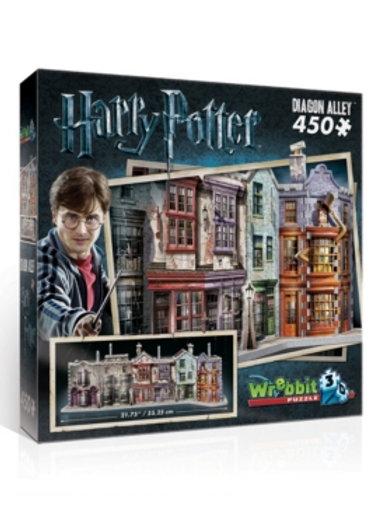 Harry Potter - Puzzle 3D 450 pz. - Diagon Alley