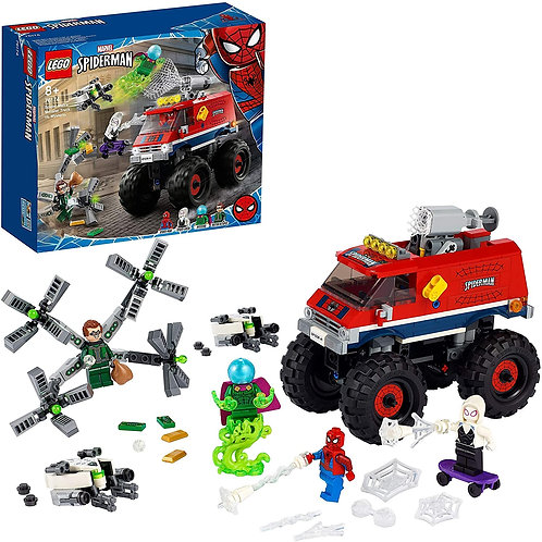 Lego Spider-Man - Monster Truck di Spider-Man vs. Mysterio