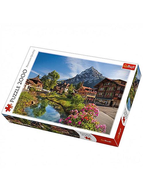 2000 pz. Trefl - Alpi in estate