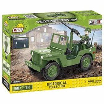 Jeep Wilys MB 1/4 Ton 4x4 - Cobi army