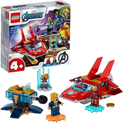 Lego Marvel - Iron Man vs. Thanos