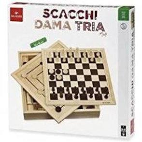 Scacchi-dama-tria cm. 36