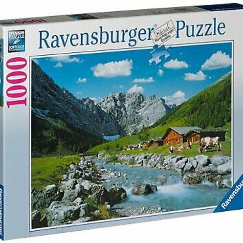 Puzzle 1000 pz. - Monti Karwendel in Austria