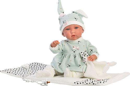 Bambola New Born cm. 42 Mimì + fascia