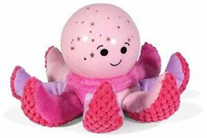 Octo Softzee rosa -  Proiettore di stelle - Polpo