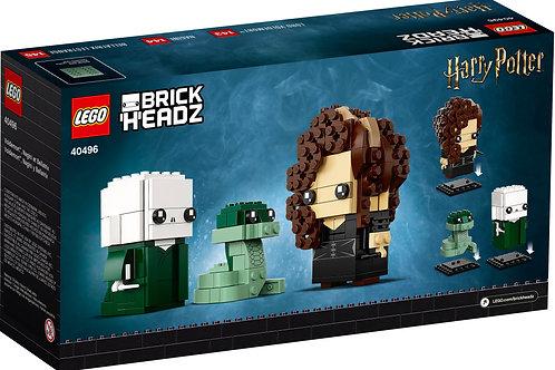 Lego Brickheadz - Voldemort Nagini & Bellatrix