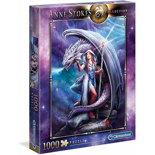 Puzzle 1000 pz. - Anne Stokes, Dragon Mage
