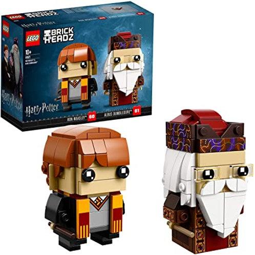 Lego Brickheadz - Ron e Silente