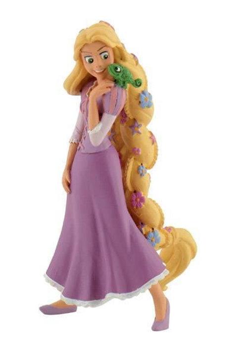 Rapunzel con fiori