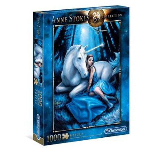 Puzzle 1000 pz. - Anne Stokes, Blue Moon