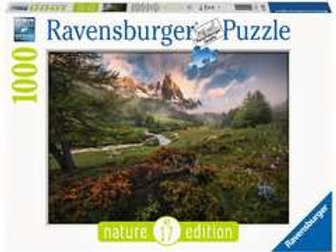Puzzle 1000 pz. - Alpi francesi