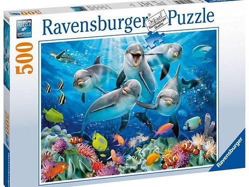 Puzzle da 500 pz. - Delfini
