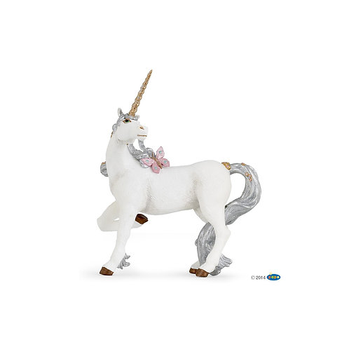 Unicorno argentato