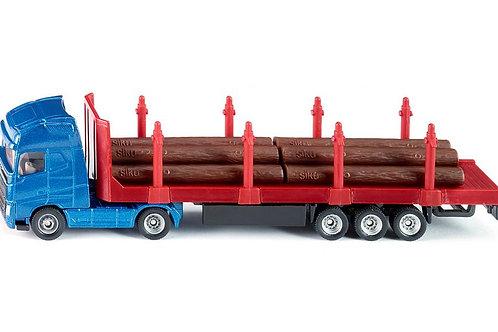 Camion con semirimorchio trasporto tronchi