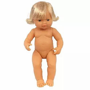 Bambola cm.38 europea femmina