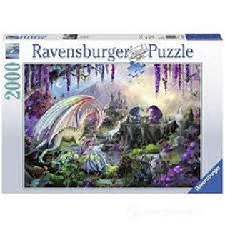 Puzzle 2000 pz. Valle del drago