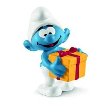 Puffi - Puffo con regalo
