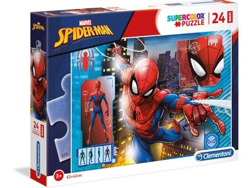 24 pz. Maxi Clem Spider-Man