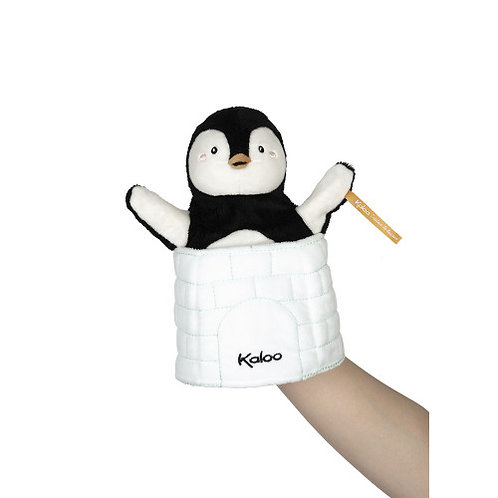 Pinguino Gabin - marionetta a sorpresa