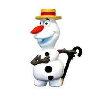 Frozen - Olaf col cappello