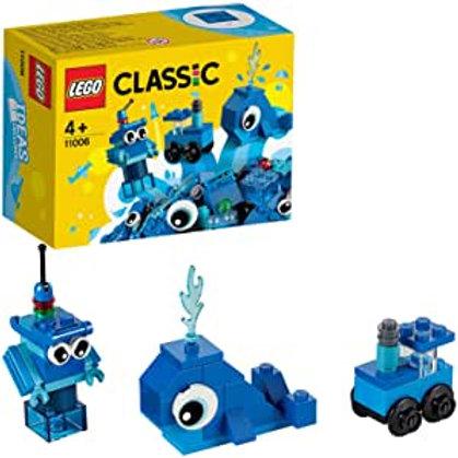 Lego Classic - Mattoncini blu creativi