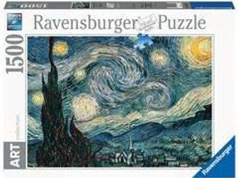 Puzzle 1500 pz. - Van Gogh, Notte stellata
