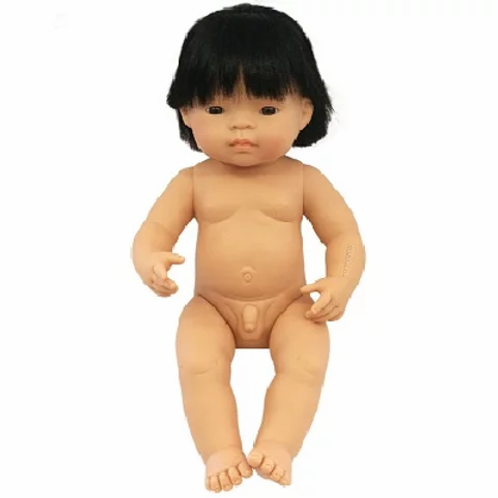 Bambola cm.38 asiatica maschio