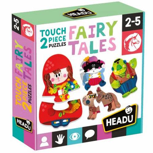 Puzzle 2 pz. tattili Fairy Tales