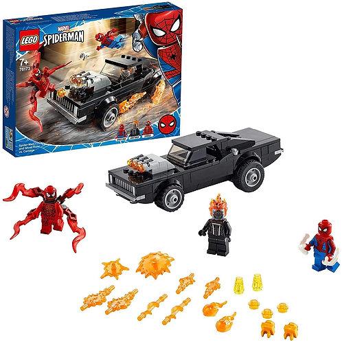 Lego Spider-Man - Spider-Man e Ghost Rider vs. Carnage