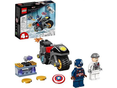 Lego Marvel - Scontro tra Captain America e Hidra