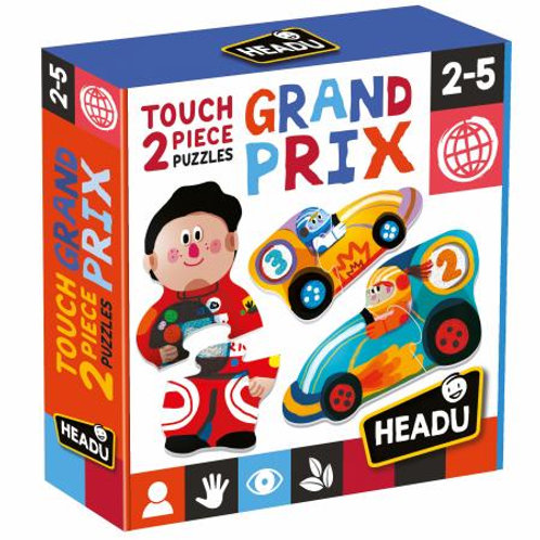 Puzzle 2 pz. tattili Grand prix