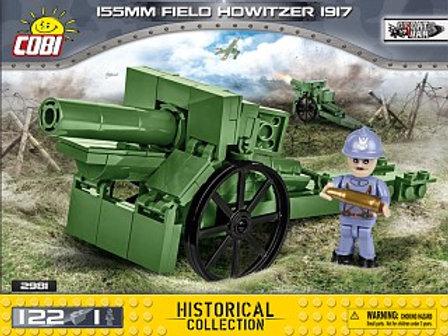 COBI Army 2981 Cannone da campo 155 mm. Howitzer