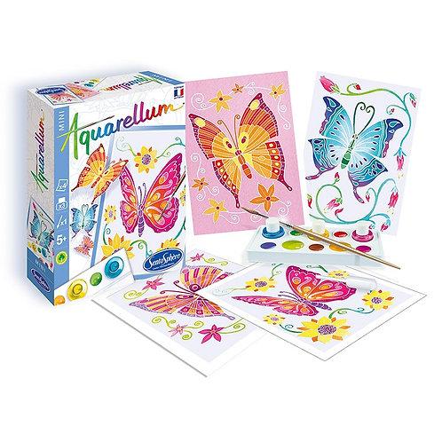 Aquarellum mini - Farfalle