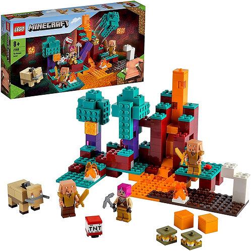 Lego Minecraft - La Warped forest