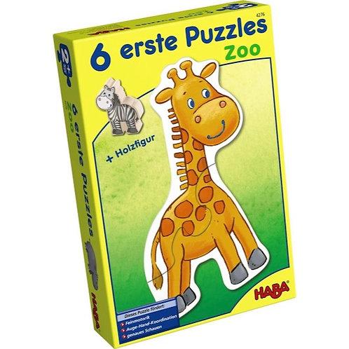 6 primi puzzle Haba
