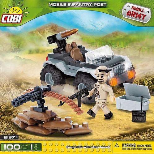COBI Army 2197 Posizione di fanteria mobile