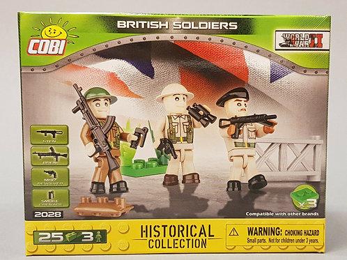 3 soldati inglesi - Cobi