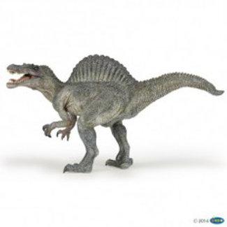 Spinosaurus che apre la bocca