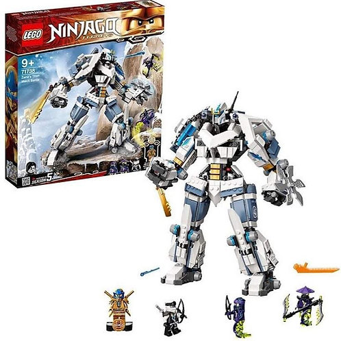 Lego Ninjago - Mech Titano da battaglia di Zane