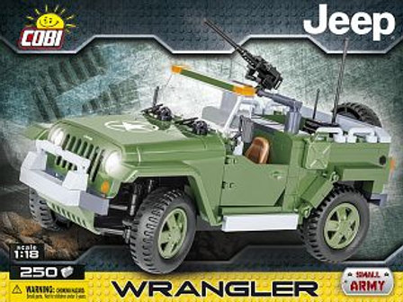 COBI Army 24260 Jeep Wrangler militare 1/18