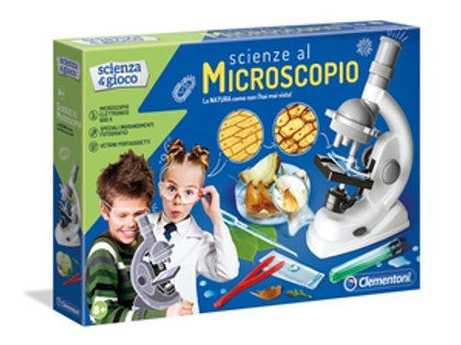 Scienza e gioco: Scienze al microscopio