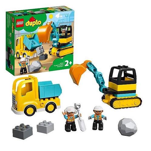 Duplo - Camion e scavatrice