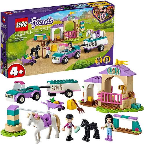 Lego Friends - Addestramento equestre e rimorchio