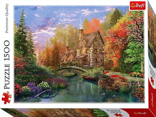 1500pz. Trefl - Cottage by the lake