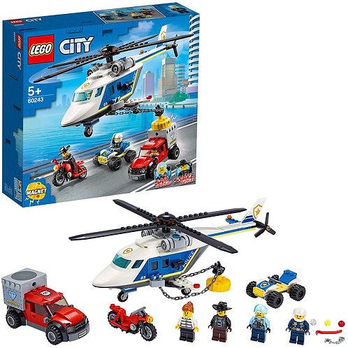 Lego City - Inseguimento sull'elicottero della polizia
