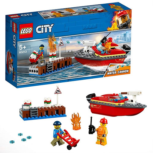 Lego City - Incendio al porto